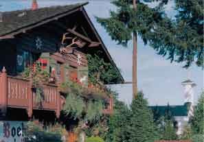 Boehm's Chocolate's historic chalet