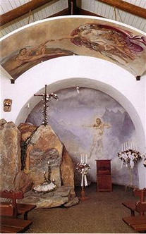 High Alpine Chapel interior