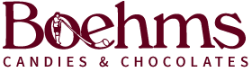 Boehms Candies & Chocolates logo