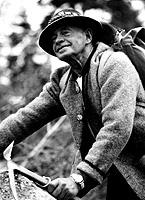 Julius Boehm mountain climbing