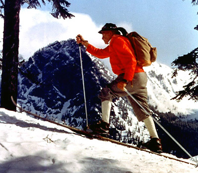 Conquering Mt. Rainier was something Julius did three times during his life.