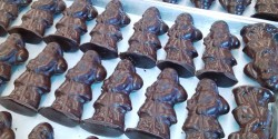 Photo of Molded Santas